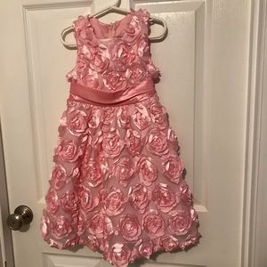 Girls Pink dress - Rare Editions